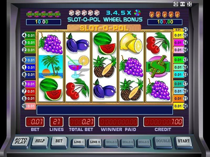 Игровые автоматы Ешки бесплатно играть Slot-o-Pol от Мега Джек